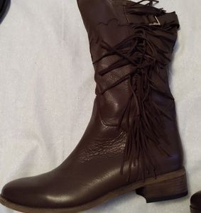See by Chloé Epona Fringed Western Boots